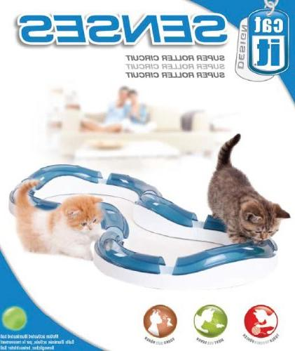 Catit Design Senses Super Roller Circuit Toy Cats