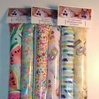 "Set of 2 - 11"" Catnip Kicker Sticks Cat Toys - Girly Print"