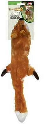 Skinneeez Stuffing Free Dog Toy 23-Fox