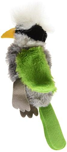 Ethical Skinneeez Tufted Parrot 8-Inch Cat Toy