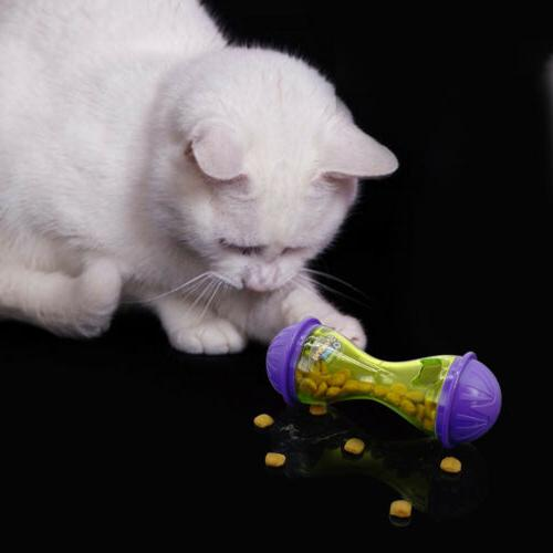 Interactive Cat Ball Toys Dispenser Feeder