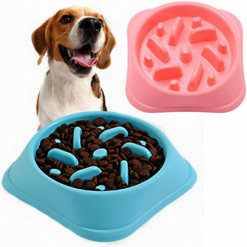 Anti Food Dish Water Pet