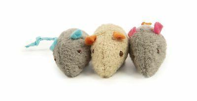 SmartyKat Mice Catnip Cat Mouse Toys