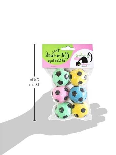 Cat-A-Lack 6-Piece Balls for