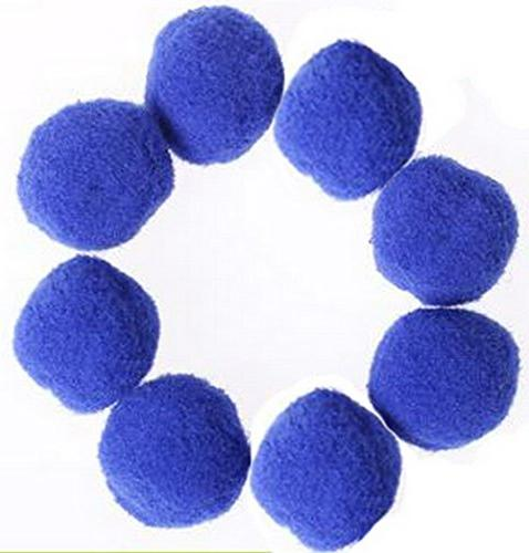 PET Cat Toy Kitten Toys Pompon Assorted Color Pack of 50