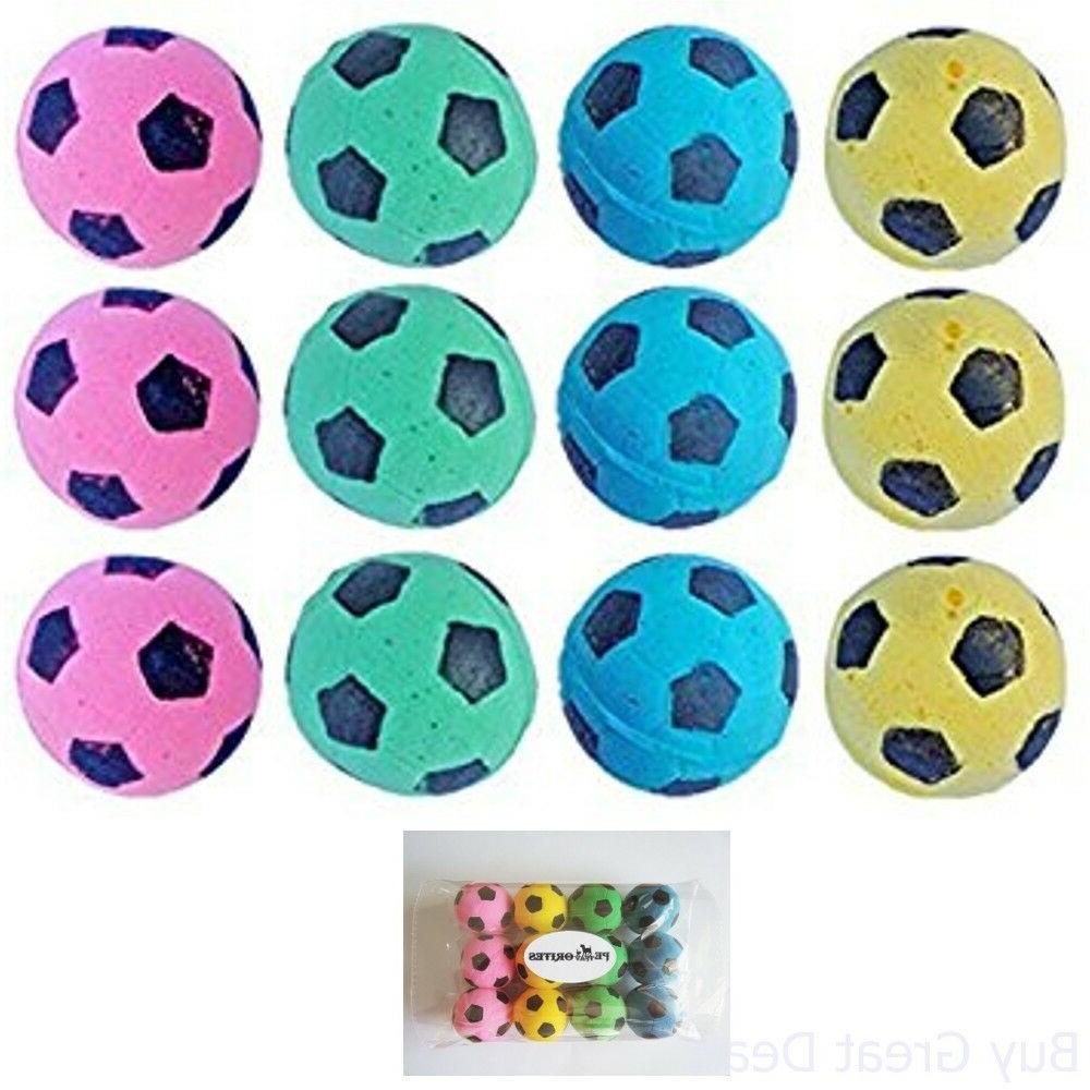 PetFavorites Soft Light Nontoxic Sponge Foam Soccer Balls Ca