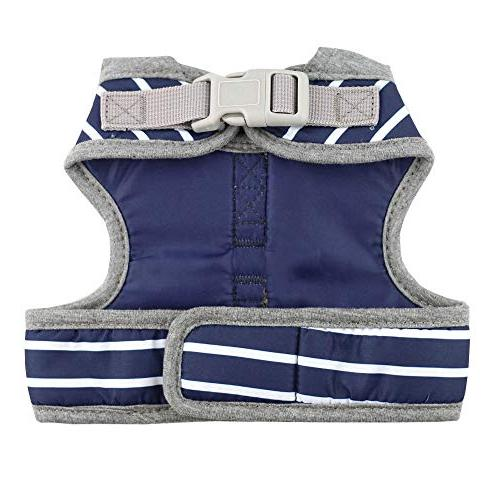 Bolbove Stripe Vest and Leash Set Hood for Dogs
