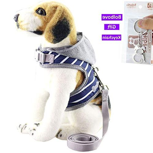 Bolbove Soft Leash Set with Hood Cats Dogs