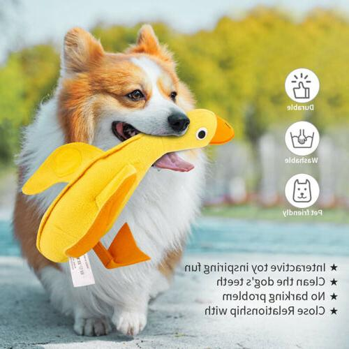 Squeaky Toys Cute Funny Animal Puzzle For Dogs