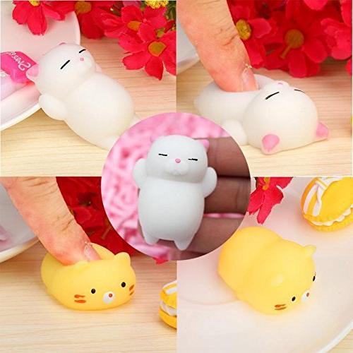 squishy cat decompression toys