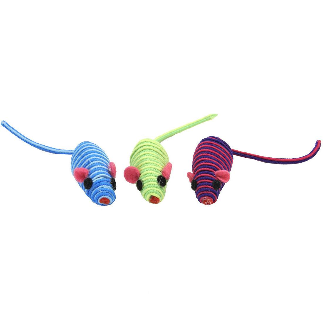 string mice cat toys lots 3 5