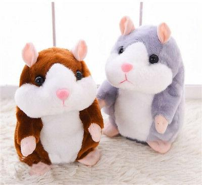 talking hamster repeats what you say plush