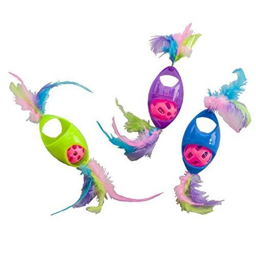 tie dye jingle roller feathers