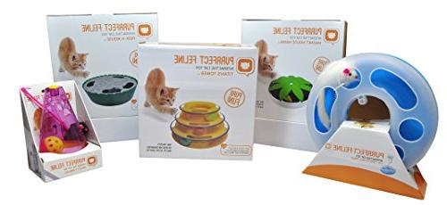 Purrfect - New Toy, Game, Anti-Slip, Active Healthy Suitable for Multiple Cats