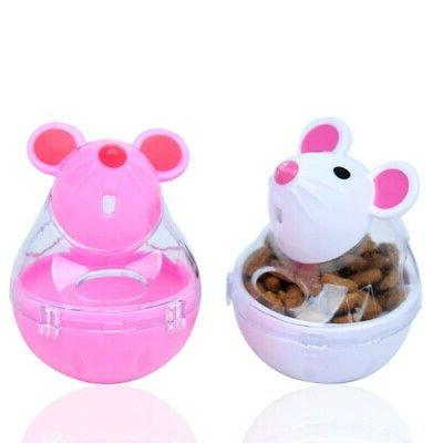 transparent storage tank cat food dispenser treat