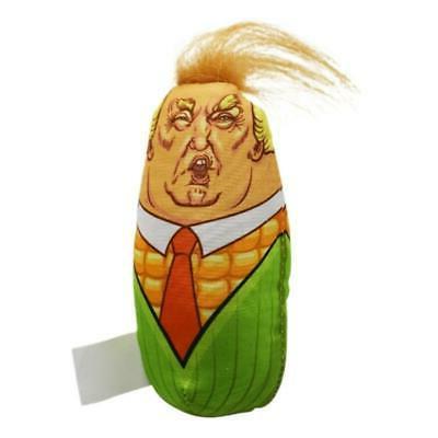 trump head maize design cat toys stuffed