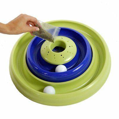 turbo catnip hurrican cat toy blue green