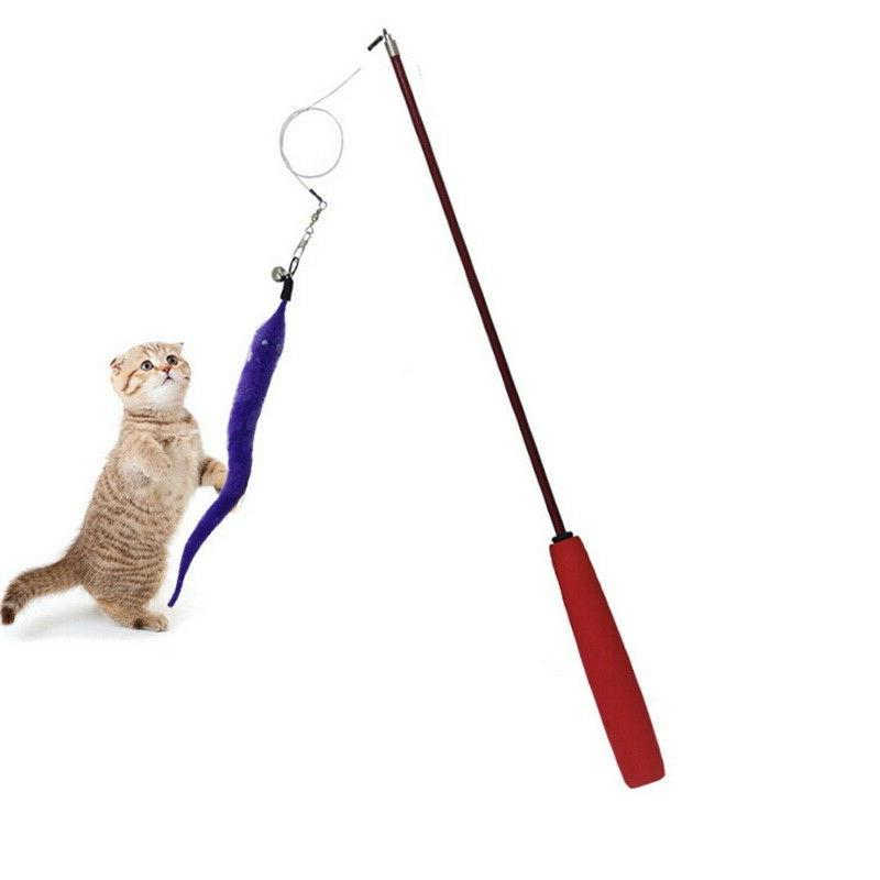 US Funny Cute Toys Plastic Pet Toys Interactive Stick