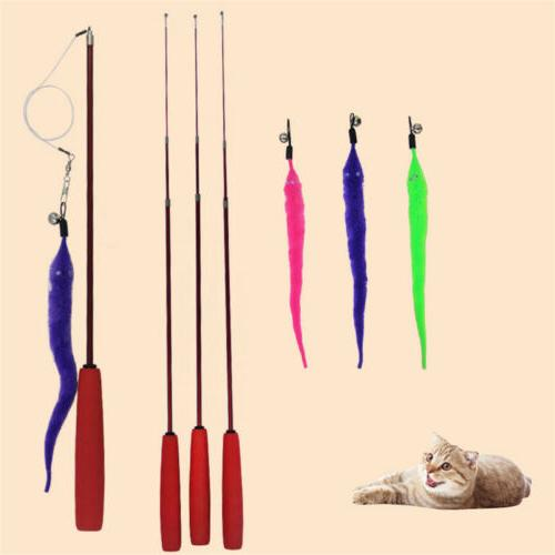 US Cat Toys Plastic Pet Toys For Cats Interactive Stick