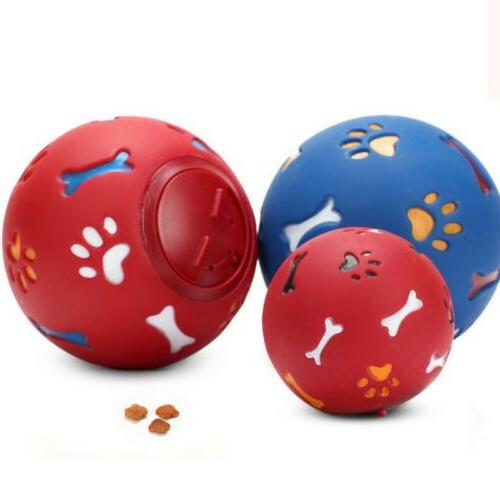 US Pet Ball Dog Toys Cat Toy Food Dispenser