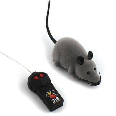 US Remote Rat Dog Interactive Toy Fun Gift
