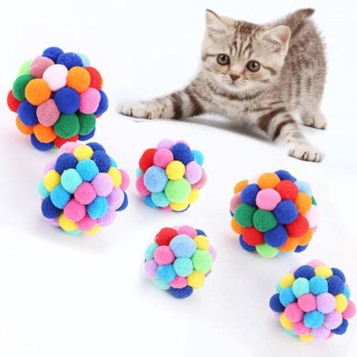 US Cat Dog Pet Bell Teaser Exercise Toys