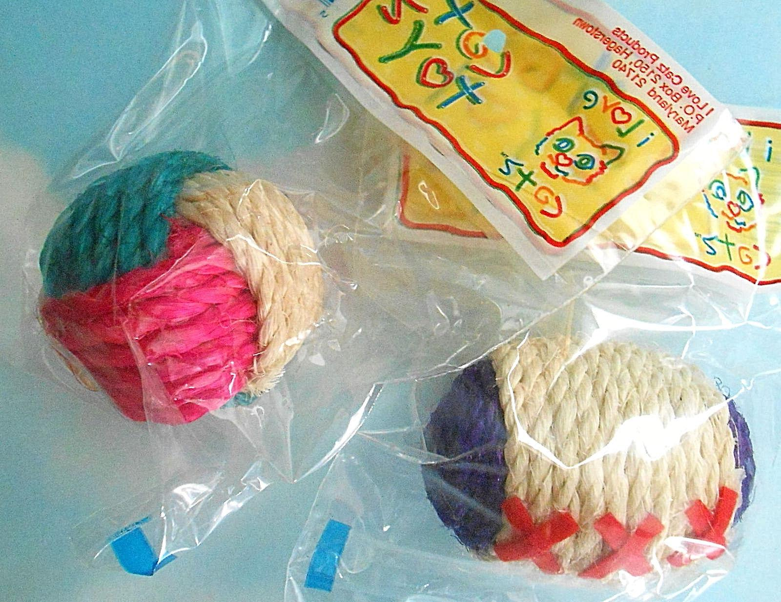 USA MADE CAT TOY - BALLS TOY