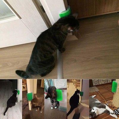 USA Cat Groomer Brush Grooming Comb Toys + Catnip