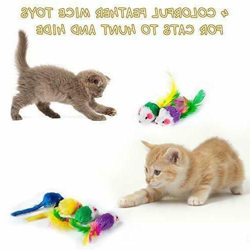 Variety Catnip Toy Including 2 Toys Assortments