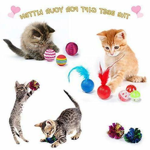 Including 2 Way Toys - Kitten Assortments