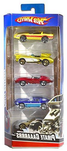 Hot Wheels Assortment Cars, 5 Count