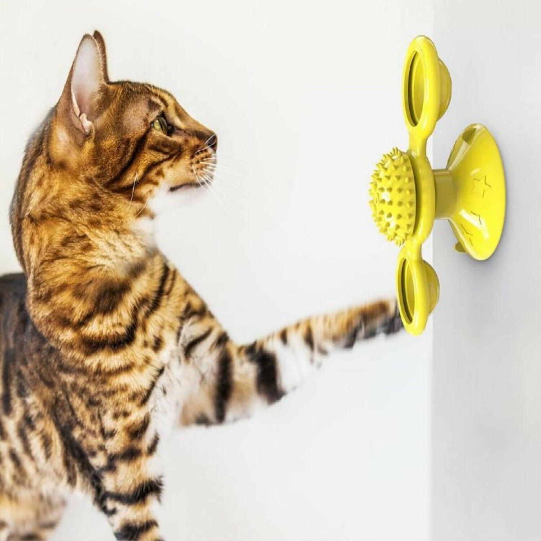 Windmill Toys Spinner LED Catnip -