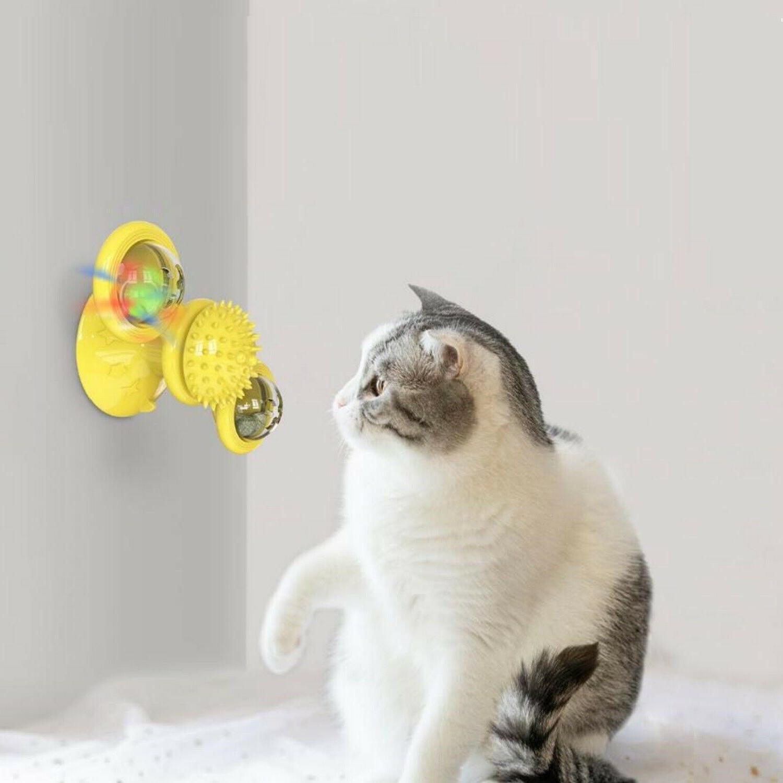Windmill Spinner Kitten LED -