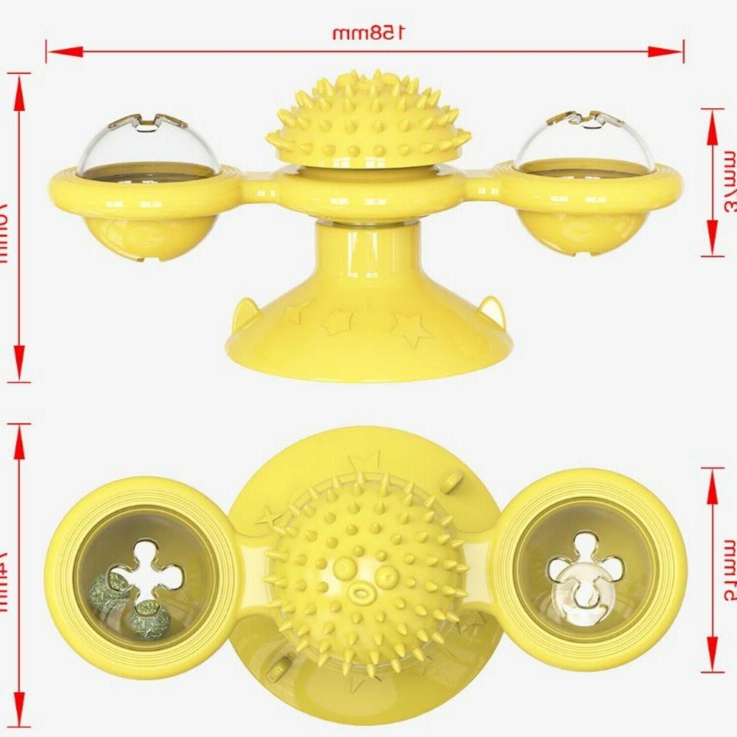 Windmill Cat Toys Spinner for -