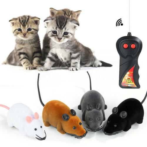 Remote Mouse Cat Dog Funny Pet Supplies Toy