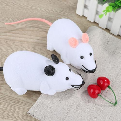 Remote Control RC Rat Mouse Wireless Dog Supplies Toy