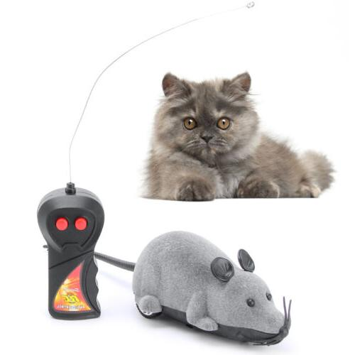wireless remote control simulation plush mouse mice