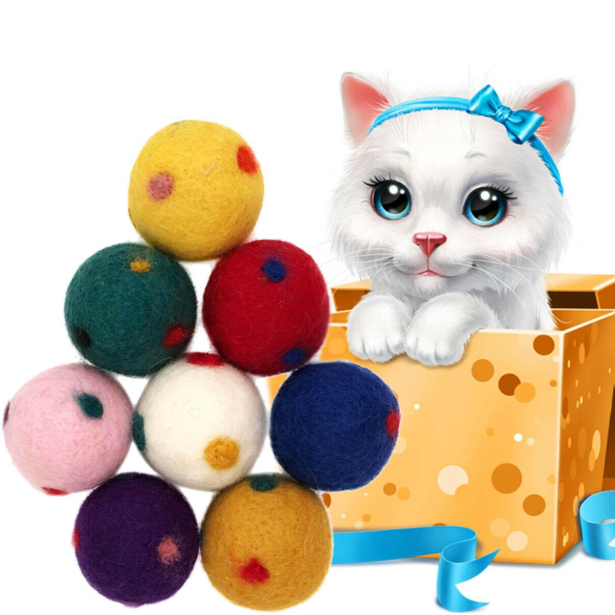 Wool Cat Toys, Eco Safe All Animals, Design