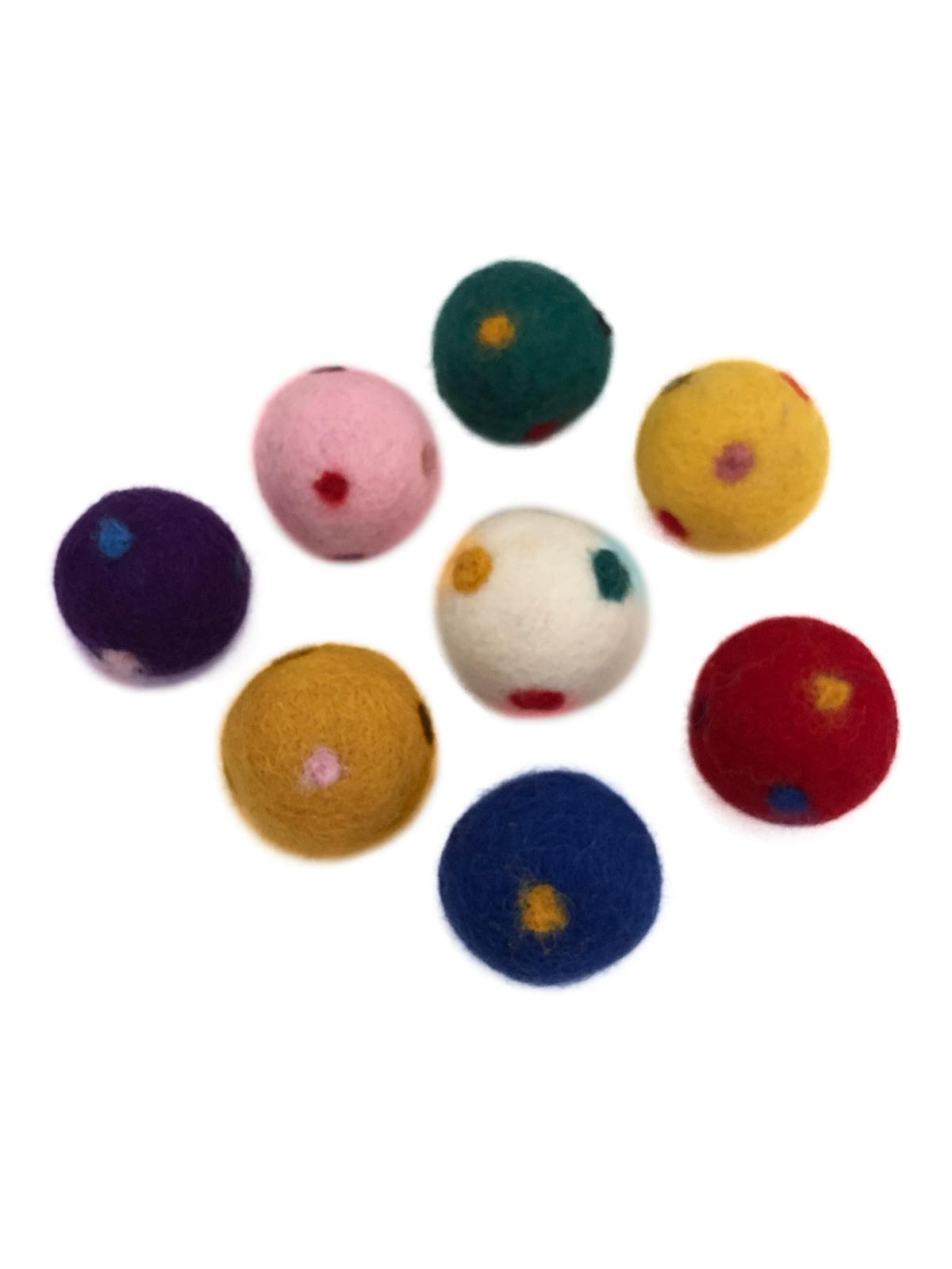 Wool Ball Cat Toys, Eco All Design