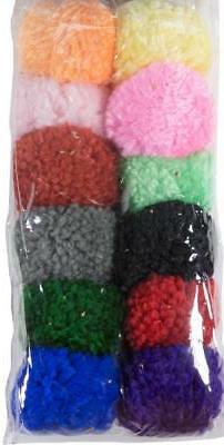 wool pom poms cat toys lots 3