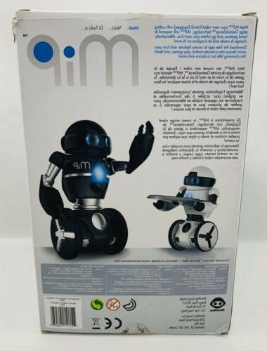 WowWee Robot- Black Excellent Condition.