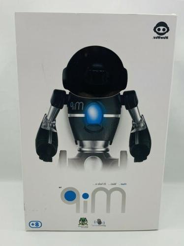 wowwee the toy robot black and silver