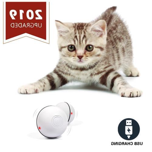 YOFUN Smart Interactive Cat Toy - Newest Version 360 Degree
