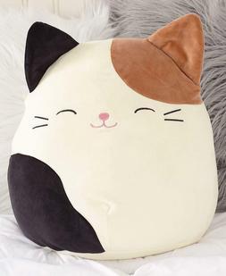 Large Squishmallow Cam Cat Stuffed Animal Plush Gift Toy Boy