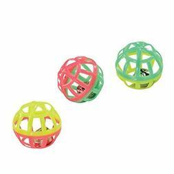 HDP Lattice Plastic Balls Metal Jingle Bell Two Tone Cat kit