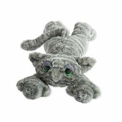 "Manhattan Toy Lavish Lanky Cats Slate Grey Shadow 14"" Plush"