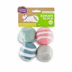 Leaps & Bounds Playful by Nature Pounce & Play Wool Cat Ball