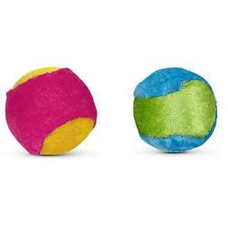 Leaps & Bounds Plush Ball Cat Toy in Assorted Colors