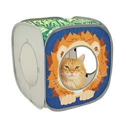lion play cube