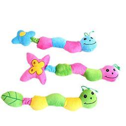 MuseWanna Little LadyBug Type Sound Pet Toys, Cute Squeaker